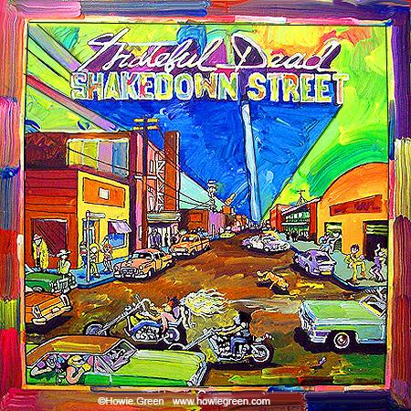 Album Cover Art - Record Album Covers - Album Cover Paintings - CD